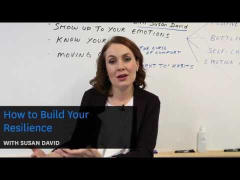 HOW TO BUILD YOUR RESILIENCE WITH SUSAN DAVID