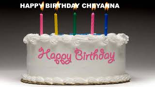 Cheyanna - Cakes Pasteles_14 - Happy Birthday