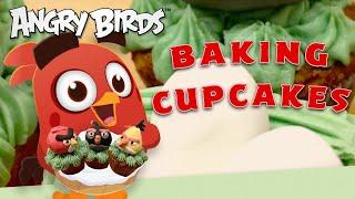 Angry Birds DIY | Delicious Egg-free Cupcakes! 🧁