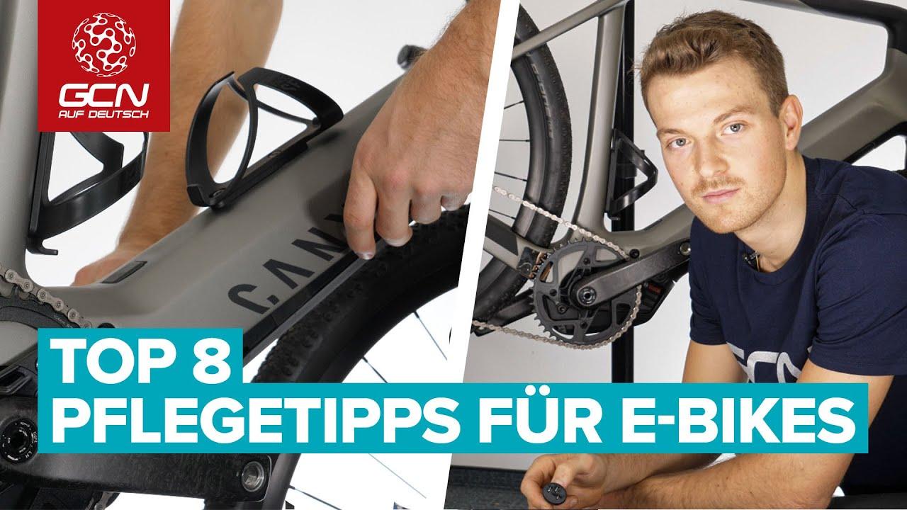 Top 8 Pflegetipps für E-Bikes | E-Bike Pflege und Reinigung