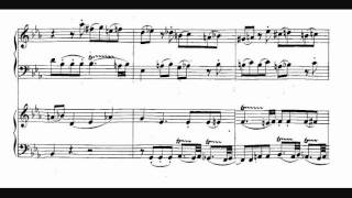 Mozart, Fugue in C Minor for two pianos, K. 426 (1783)