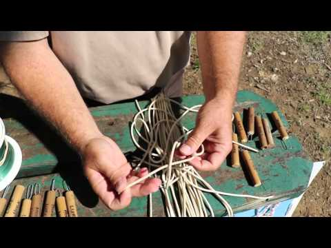 How to tie fishing knots: The Improved Clinch Knot and the Palomar Knot