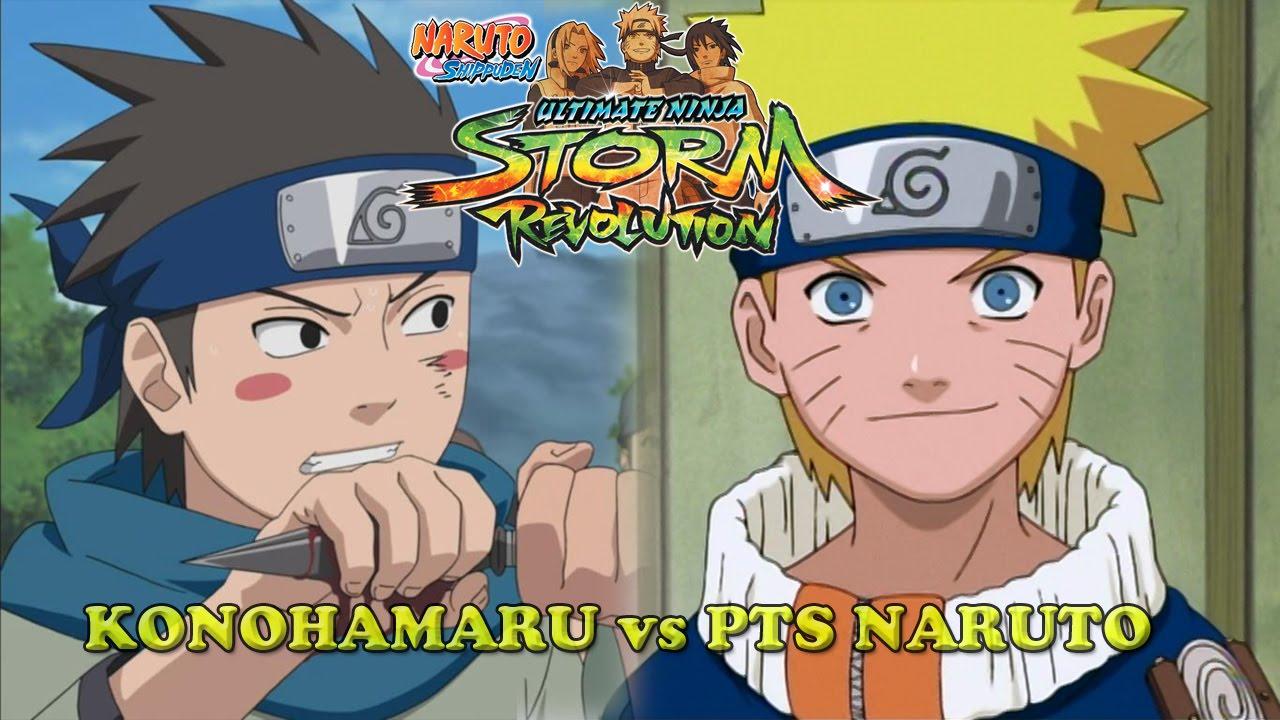 Naruto vs Konohamaru Pre-Teen Battle - Naruto Shippuden ...