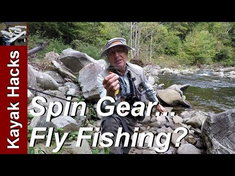 Fly Fishing With A Spinning Rod - Using A Casting Bubble