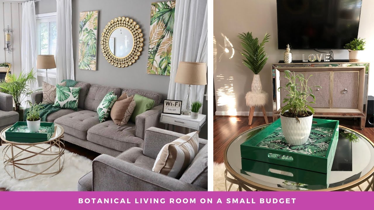 Summer Botanical Home Decor Room