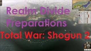 Video detailing how to prepare for realm divide in total war shogun...