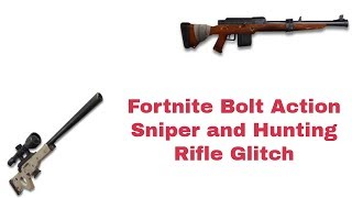 Fortnite: Bolt Action Sniper and Hunting Rifle Scope Glitch