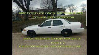 I just bought a Ford Crown Victoria P71