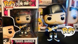 TRAVIS BARKER FUNKO POP UNBOXING OUT THE BOX REVIEW + FAVORITE BLINK 182 SONG?
