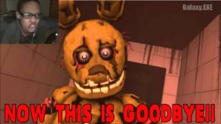 [SFM FNAF SONG] Goodbye (COLLAB) REACTION | THANK YOU FOR PLAYING OUR GAME