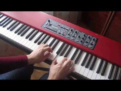 K.Maro - Sous L'Oeil De L'Ange (piano cover, ending only)