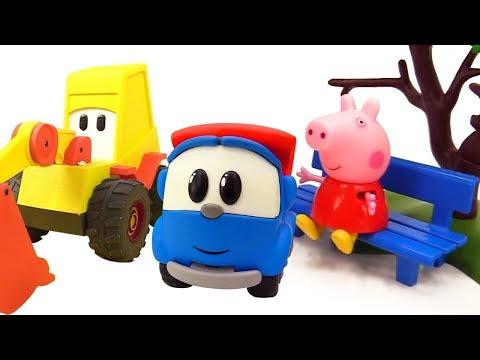 Leo der Lastwagen und seine Freunde.  Video für Kinder