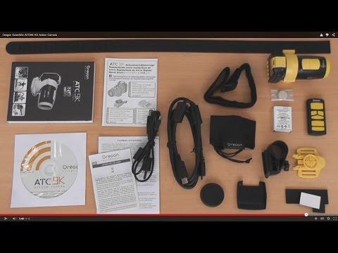 Обзор экшн камеры Oregon Scientific ATC 9K  Плюсы и минусы. Примеры записи видео.