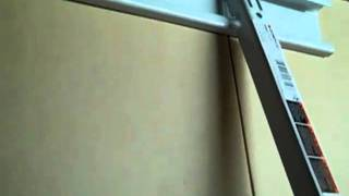 Shelf Installation In A Basement Storage Room