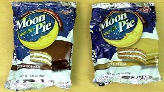 Moon Pie - Marshmallow Sandwich [chocolate, Banana]