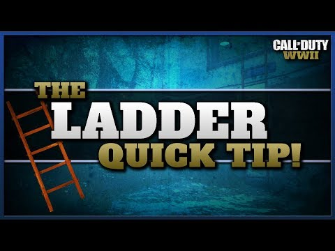 The Ladder Quick Tip to Shoot Sooner! (CoD WW2)