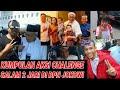 Aksi Lucu Abad Ini;salam 2 Jari Di Depan Jokowi Dan Kubunya;prabowo Sandiaga;debat Capres Cawapres;u