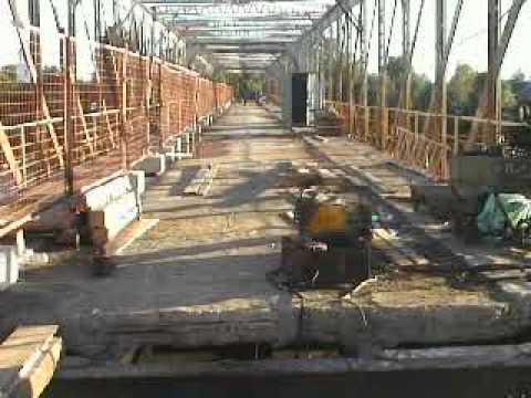 Реконструкция моста через Мсту в Броннице