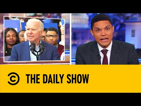Joe Biden Continues His Gaffe-Prone Campaign | The Daily Show With Trevor Noah
