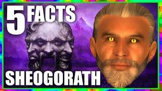 skyrim 5 sheogorath facts