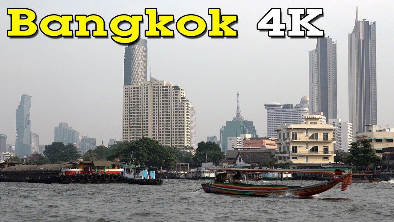 Bangkok 4K. Capital of Thailand.