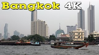 Bangkok 4K. Capital of Thailand.
