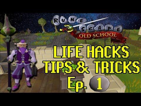 Best OSRS Life Hacks & Tips + Tricks Ep. 1