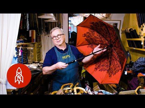 Meet One of Europe's Last Umbrella Repairmen