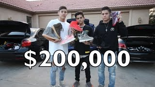 16 YEAR OLDS $200,000 SNEAKER + CAR COLLECTION!!!