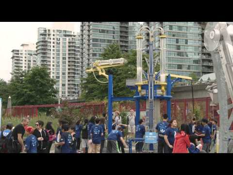 RBC Blue Water Makeover 2015- Vancouver
