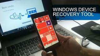 Como Voltar Para o Windows Phone 8.1 Atraves do Windows Device Recovery Tool