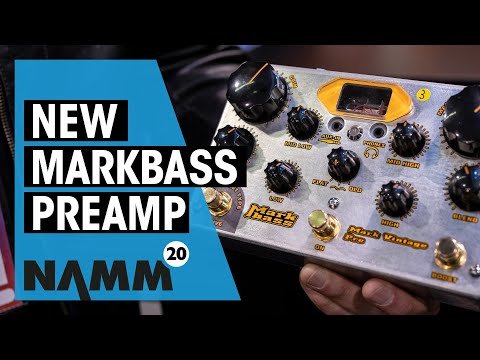 Markbass NAMM 2020 | New Mark Vintage Preamp | Thomann