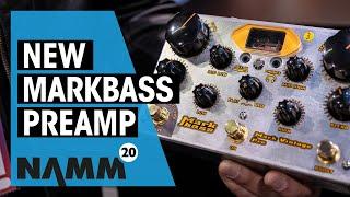 Markbass NAMM 2020 | New Mark Vintage Preamp | Thomann