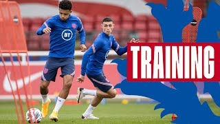 Kane, Foden and Greenwood on Target | Shooting Training in Preparation for Iceland | Inside Training