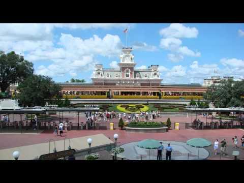 Magic Kingdom entrance music loop