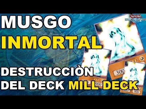 ¡DESTRUCCION DEL DECK CON MUSGO! (DECK FUN & MILL)- Yugioh! Duel Links