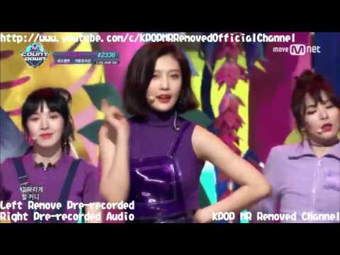 [MR Removed] 170209 Red Velvet(레드벨벳) - ROOKIE(루키) [Pre-recorded & Without Pre-audio]