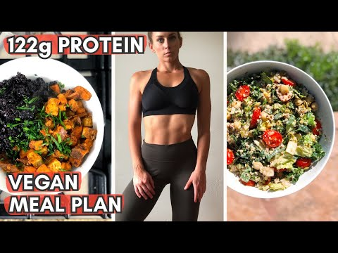Beginner High Protein Vegan Meal Plan for FAT LOSS
