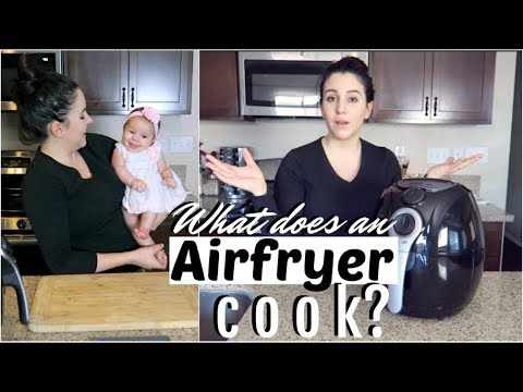 WHAT THE HECK DOES AN AIRFRYER COOK?! (Every Vegan needs this in their home  !!)