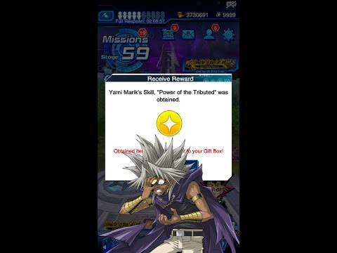 Yugioh Duel Links - How to get a New Skill : Power of The Tributed