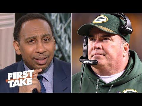 Stephen A. choqué d'apprendre l'embauche de Mike McCarthy par les Cowboys en direct à l'antenne | First Take