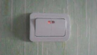 (makel) Установка двойного выключателя с подсветкой + схема(Допуск электрика должен обязательно быть!!!, 2013-07-29T13:06:15.000Z)