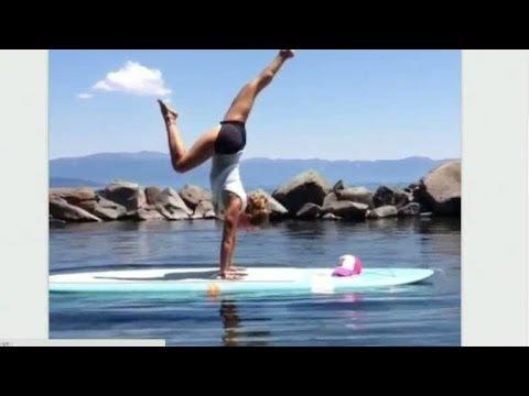 Svenska Yoga girl följs av en halv miljon på nätet - Nyhetsmorgon (TV4)