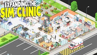 HOSPITAL TYCOON, BIG MONEY & CLINIC UPGRADES | Project Hospital Gameplay