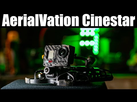 Download The AerialVation Cinestar is the top of the line micro Cinewhoop