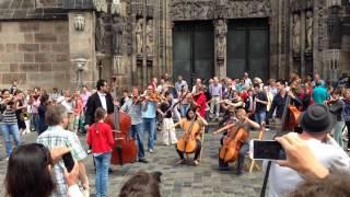 Flashmob Nuremberg June 2014 - Ode an die Freude - Stafaband