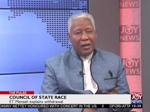 Council of State Race - The Pulse on Joy News (17-2-17)