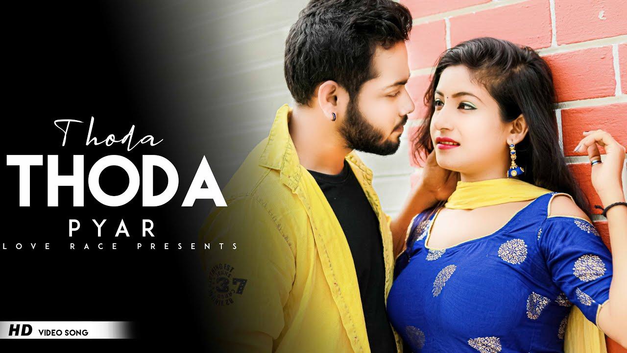 Thoda Thoda Pyaar | Collage Girl VS School Boy | Romantic Love Story | New Hindi Song | Love Race