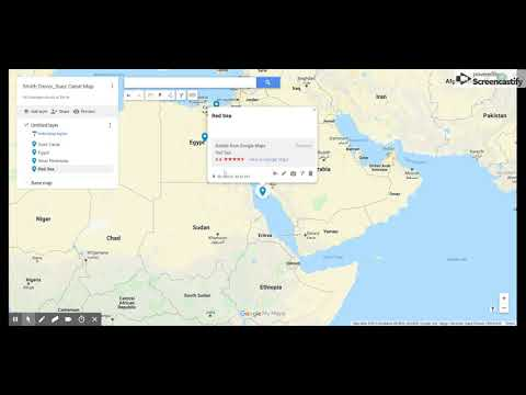 Suez Canal Google Map Assignment Example