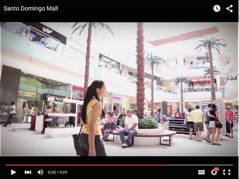 Santo Domingo Dominican Republic City Mall Documentary